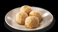 Deep Fried Glutinous Dumplings with Sesame Seeds (Buchi)